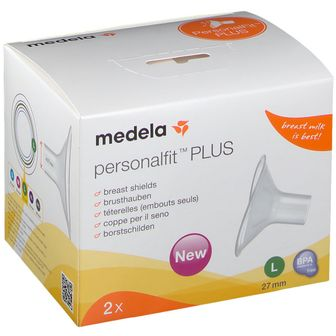 medela PersonalFit™  PLUS Brusthaube 2 St., Gr. L 27 mm