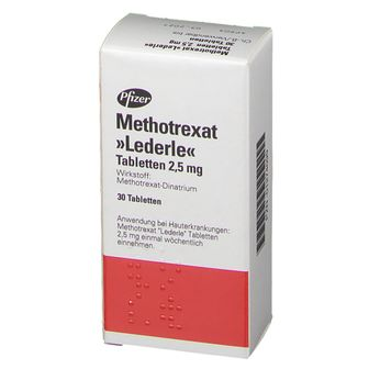 Methotrexat Lederle 2,5 mg