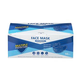 Mund- & Nasenschutz Einweg 3-lagig 50 Stück