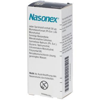 NASONEX® 140 Sprühstoß Nasenspray 18 g - shop-apotheke.com