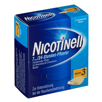 Nicotinell® 7 mg 24-Stunden-Pflaster