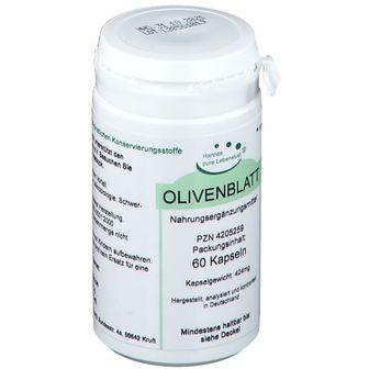 Olivenblatt Extrakt Vegan