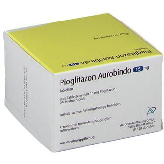 PIOGLITAZON AUROBINDO 15MG