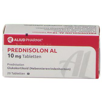 Prednisolon AL 10 mg