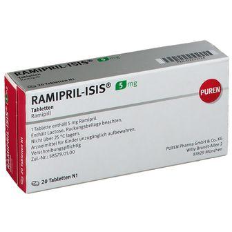 Ramipril Isis 5 mg