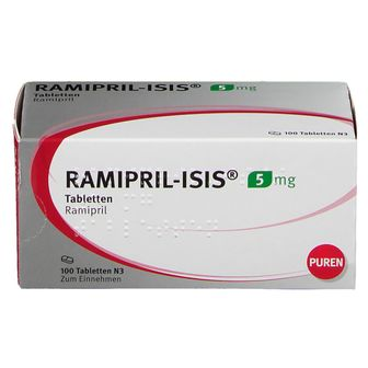 RAMIPRIL-ISIS® 5 mg Tabletten
