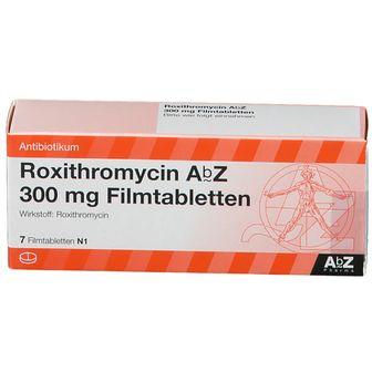 ROXITHROMYCIN AbZ 300 mg