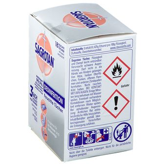 SAGROTAN® Desinfektionstücher