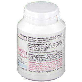 Schneider Zink Kapseln mit Vitaminen E, A und Biotin