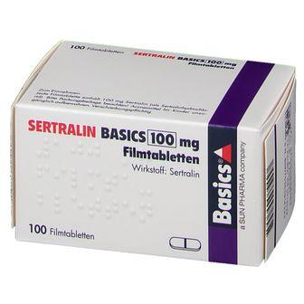 SERTRALIN Basics 100 mg Filmtabletten