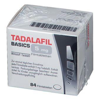 TADALAFIL BASICS 5 mg Filmtabletten