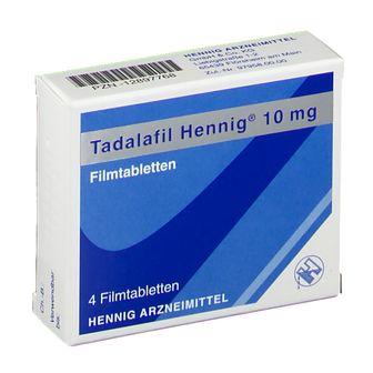 Tadalafil Hennig® 10 mg