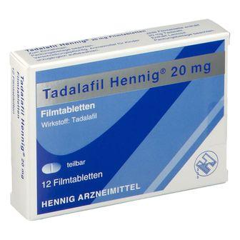 Tadalafil Hennig® 20 mg