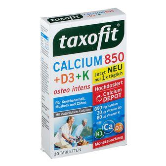 Taxofit® Calcium 850 + D3+ K