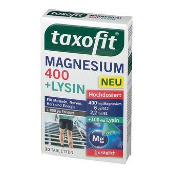 taxofit® Magnesium 400 + Lysin