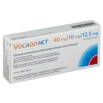 Vocado®HCT 40 mg/10 mg/12,5 mg