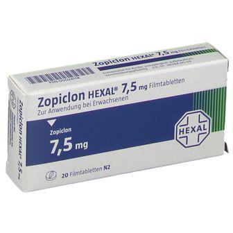 Zopiclon HEXAL® 7,5 mg