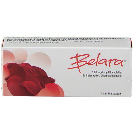 Belara® 0,03 mg/2 mg 21 St - shop-apotheke.com