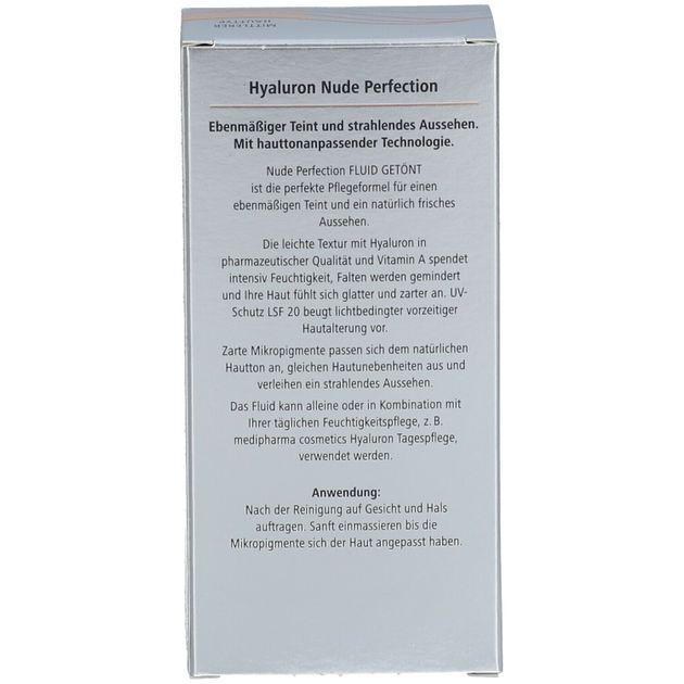 medipharma cosmetics Hyaluron Nude Perfection Fluid getönt
