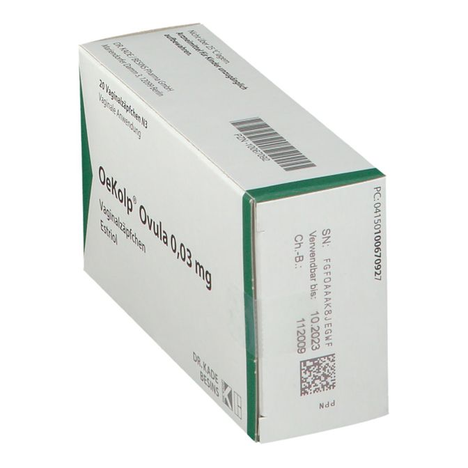 OeKolp® Ovula 0,03 mg 20 St - shop-apotheke.com