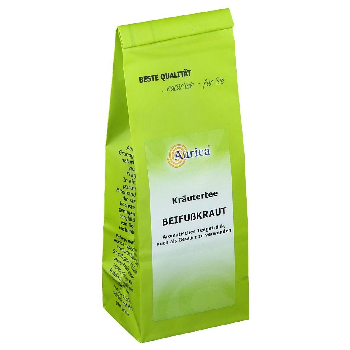 Aurica® Beifusskraut-Tee geschnitten