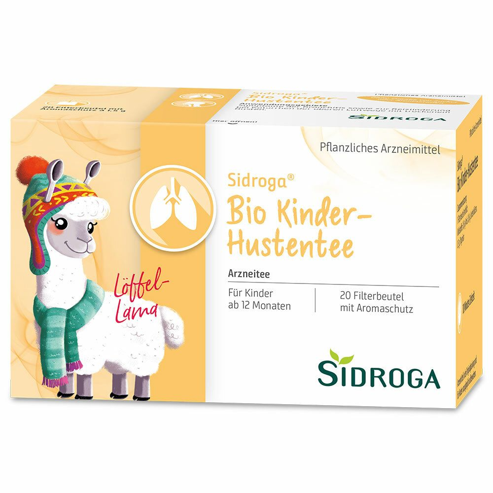 Sidroga® Bio Kinder Hustentee