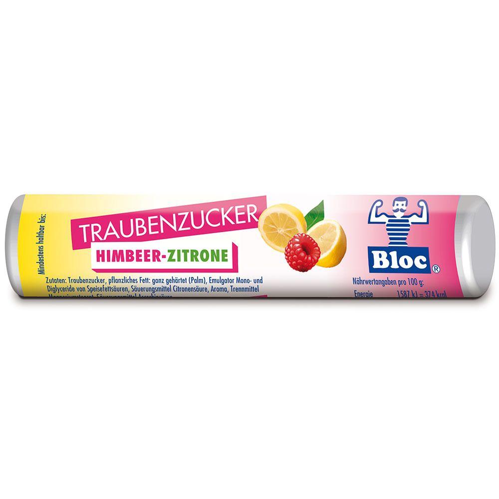 Bloc® Traubenzucker Himbeer-Zitrone