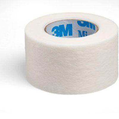 3M™ Micropore™ Hypoallergenes Vliespflaster 2,5 cm x 9,1 m weiss