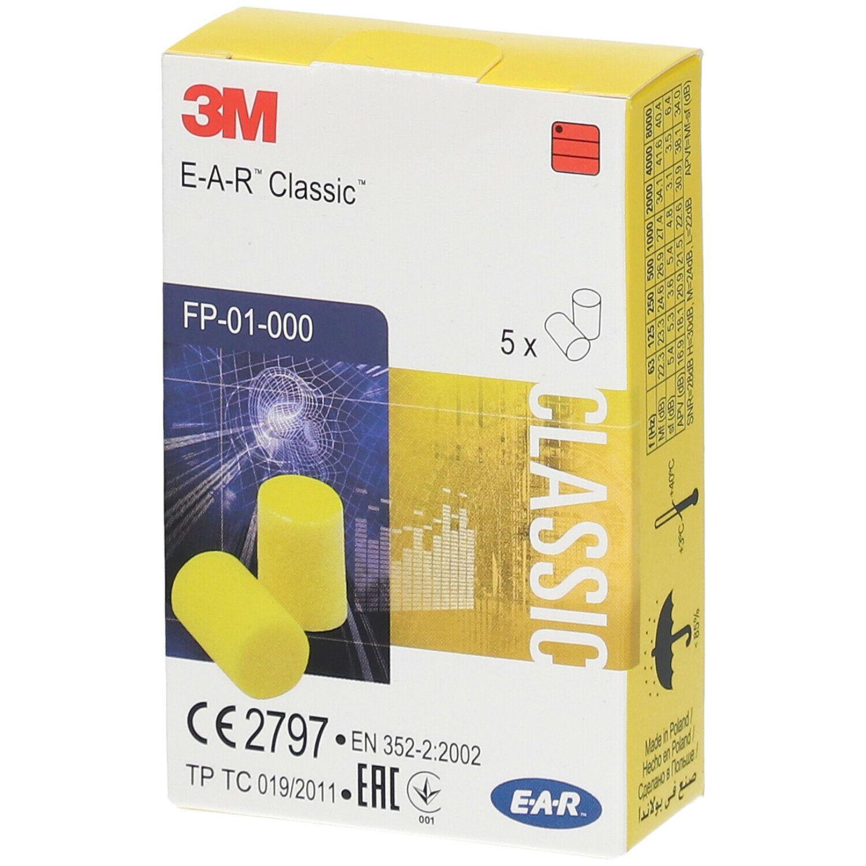 3M™ E-A-R™ Classic™ vorzuformende Gehörschutzstöpsel