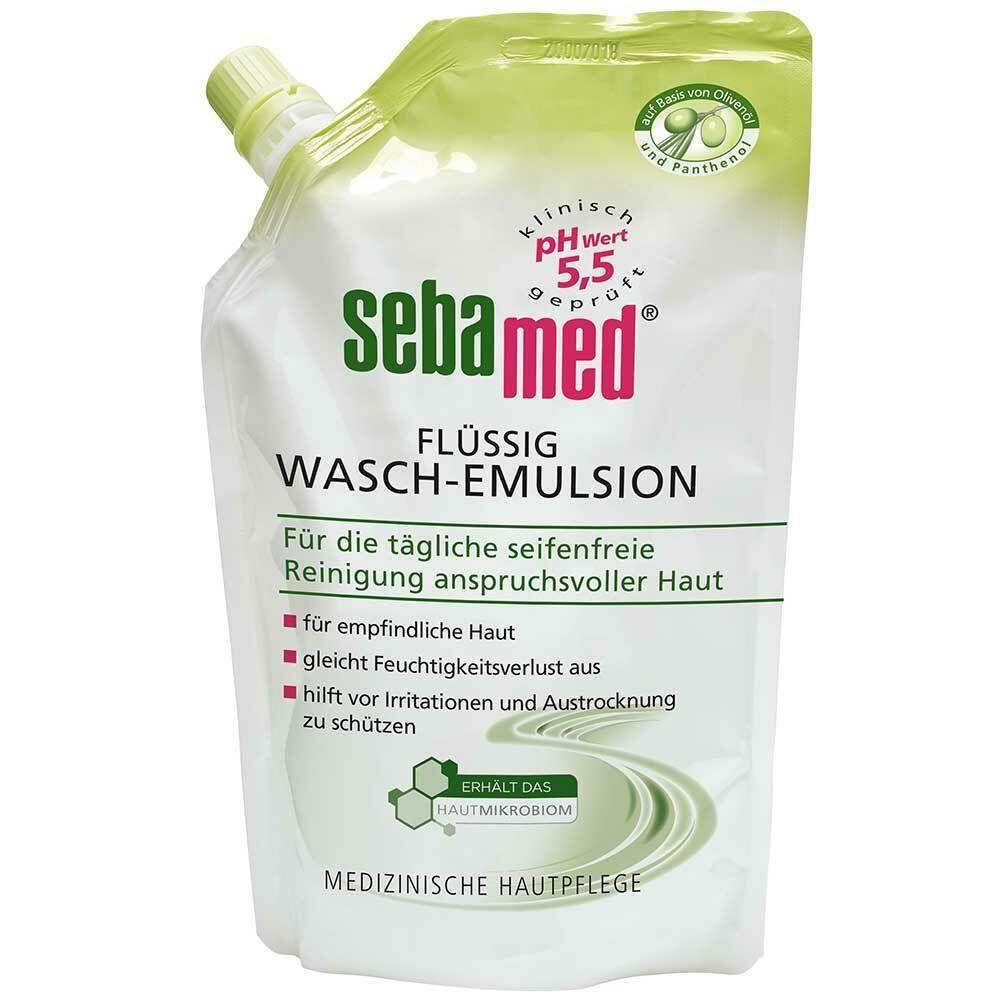 sebamed® Flüssig Wasch-Emulsion Olive Nachfüllbeutel