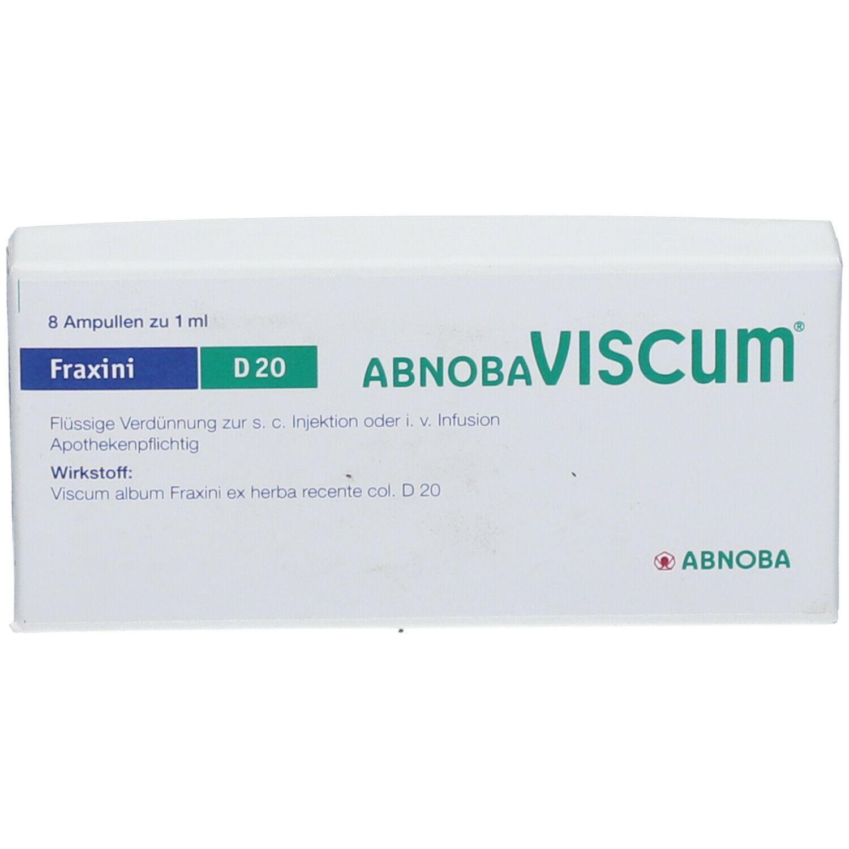 Abnobaviscum Fraxini D 20 Ampullen