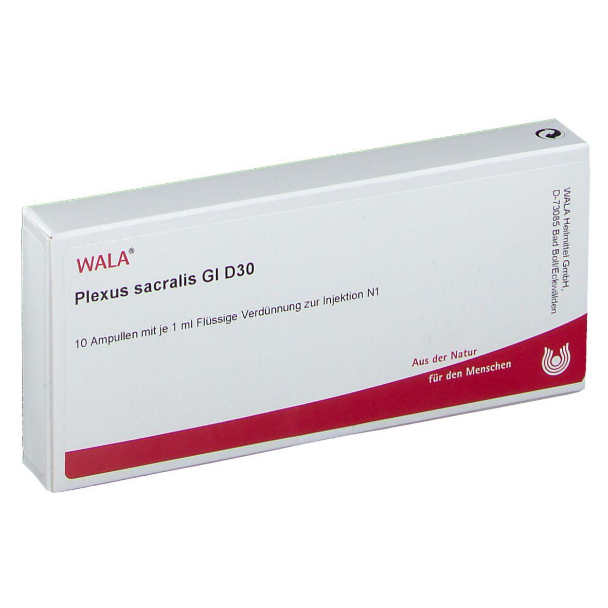 Wala® Plexus sacralis Gl D 30