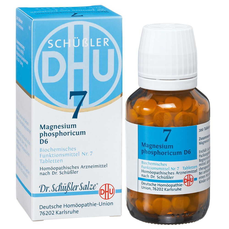 Biochemie DHU 7 Magnesium phosphoricum D 6 Tabletten – 200 St