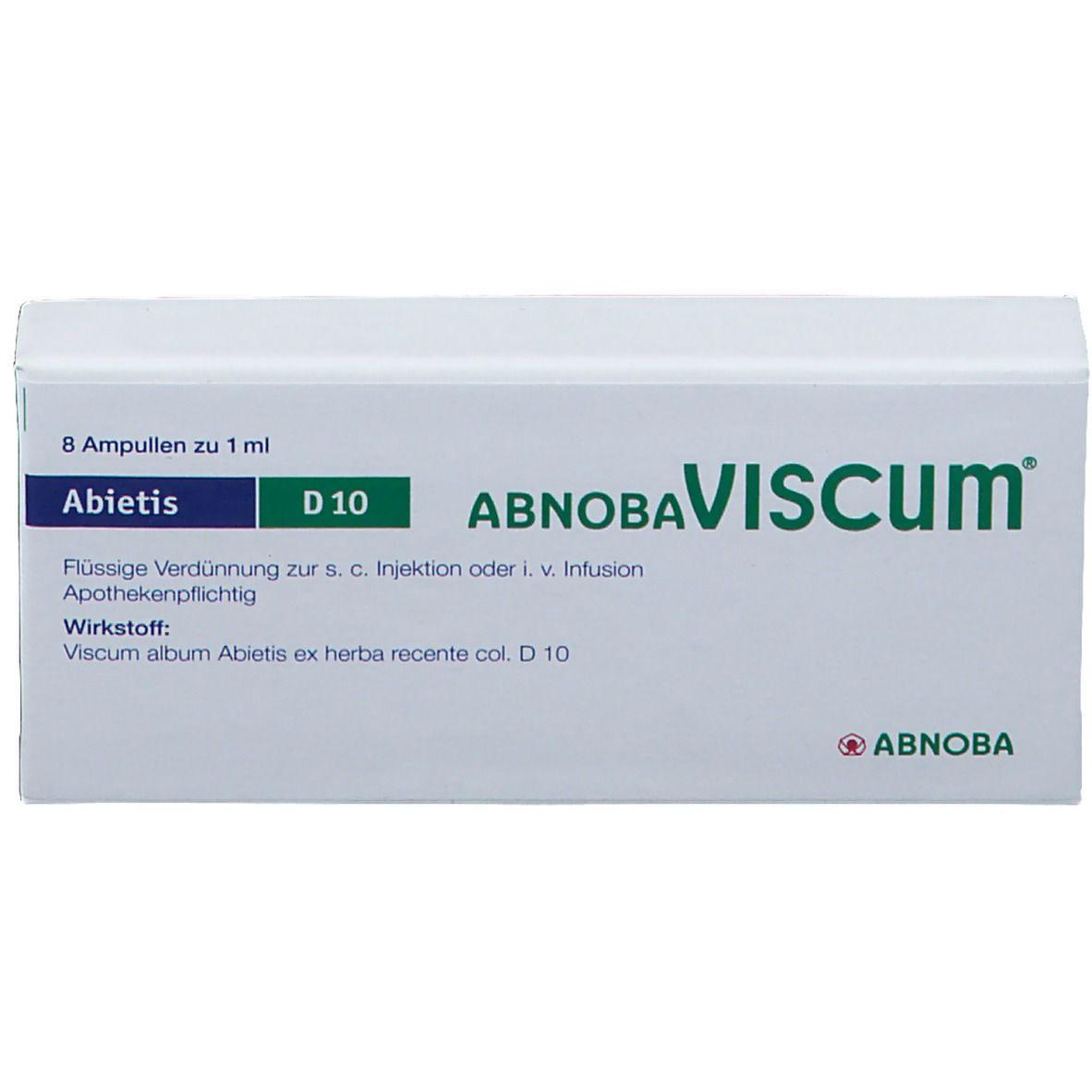 Abnobaviscum Abietis D 10 Amp.