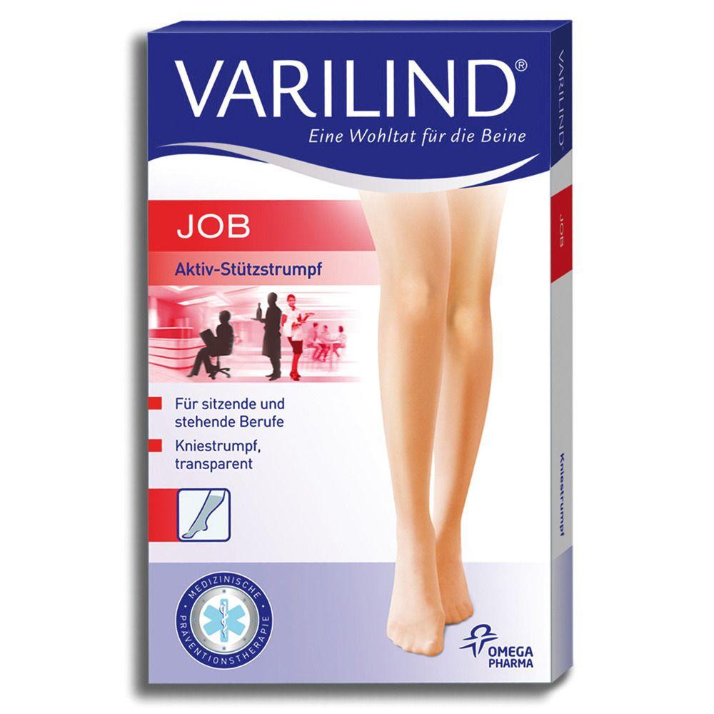 Varilind® Job Kniestrümpfe 100 DEN teint Gr. S (37,5-40)