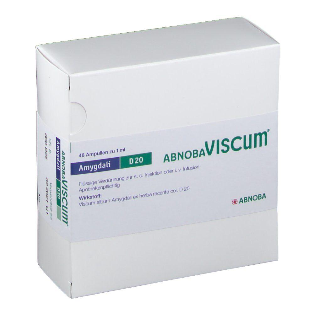 Abnobaviscum Amygdali D 20 Amp.