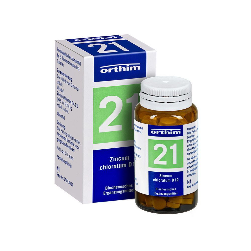 Biochemie Orthim Nr. 21 Zincum chloratum D12