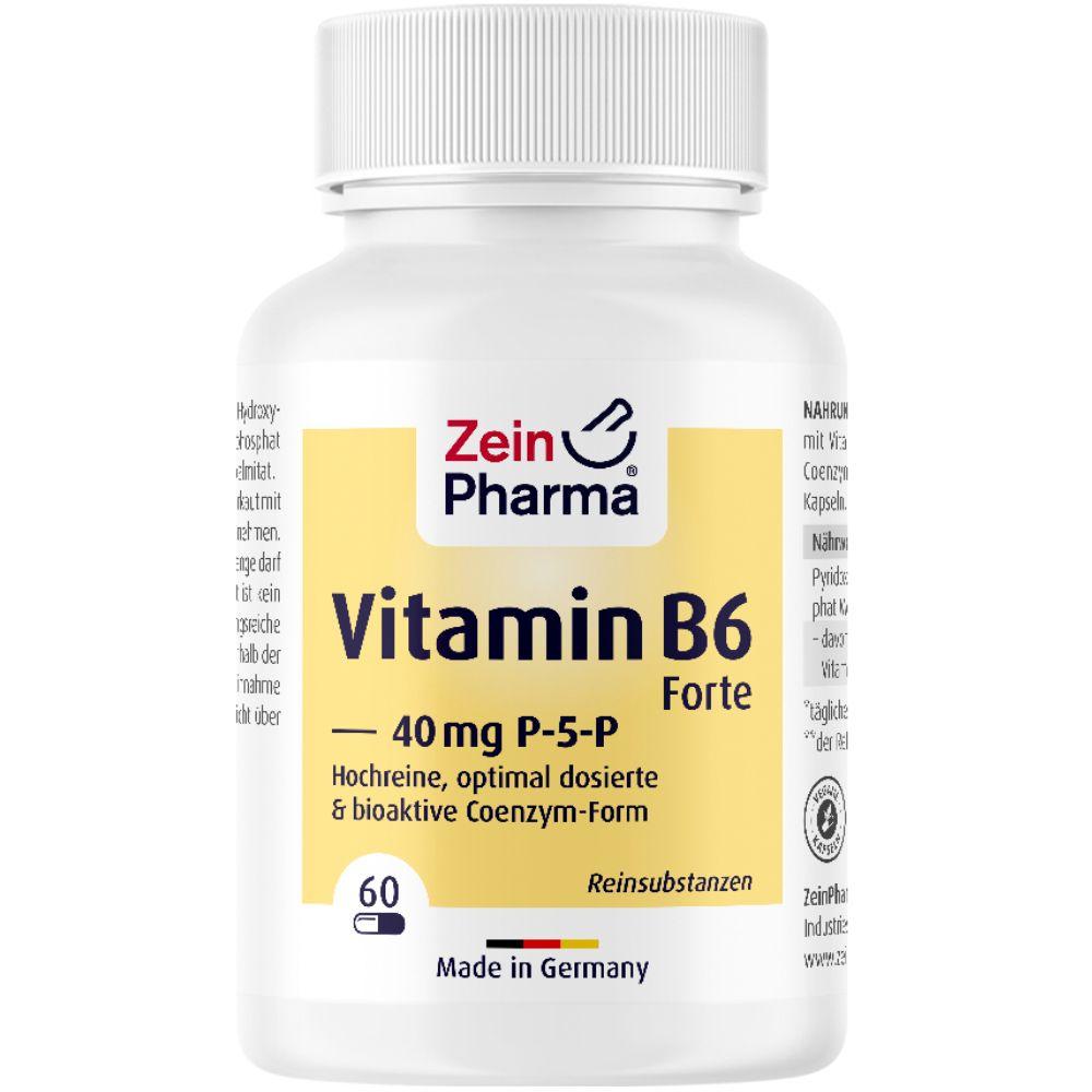 Zein Pharma® P-5-P Kapseln (Vitamin B6) 40mg