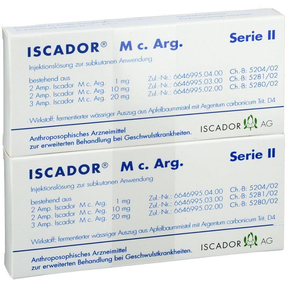 Iscador M c.Arg Serie II Injektionslösung