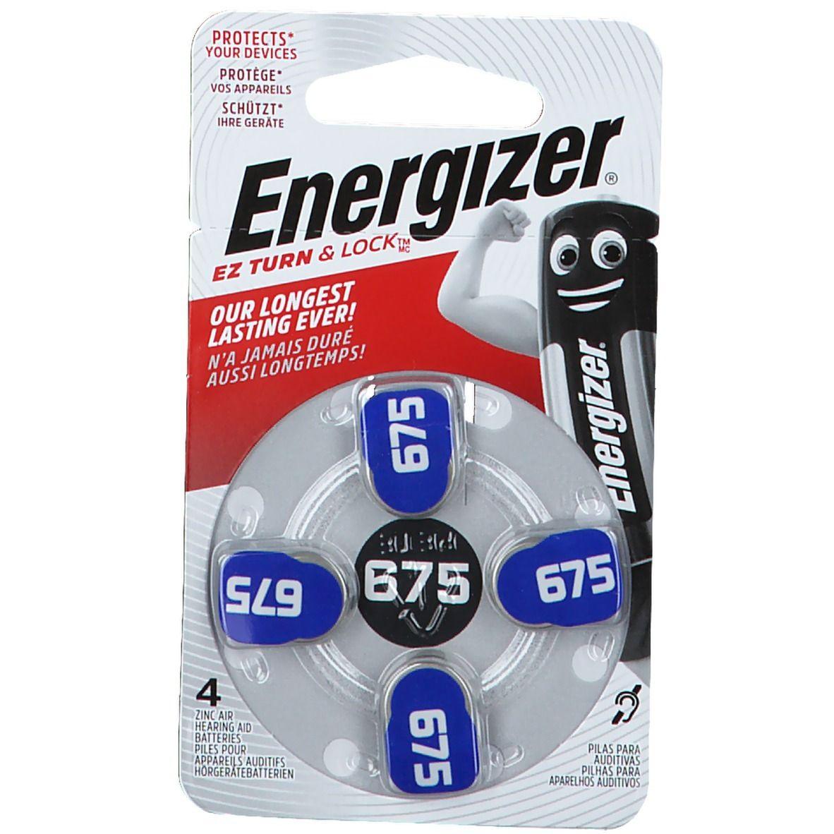 Energizer® Hörgerätebatterien 675 blau