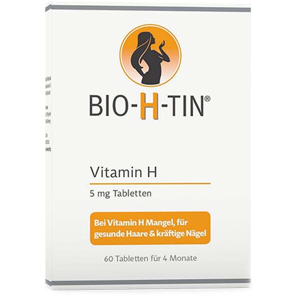 Bio-H-Tin® Vitamin H 5 mg für 4 Monate