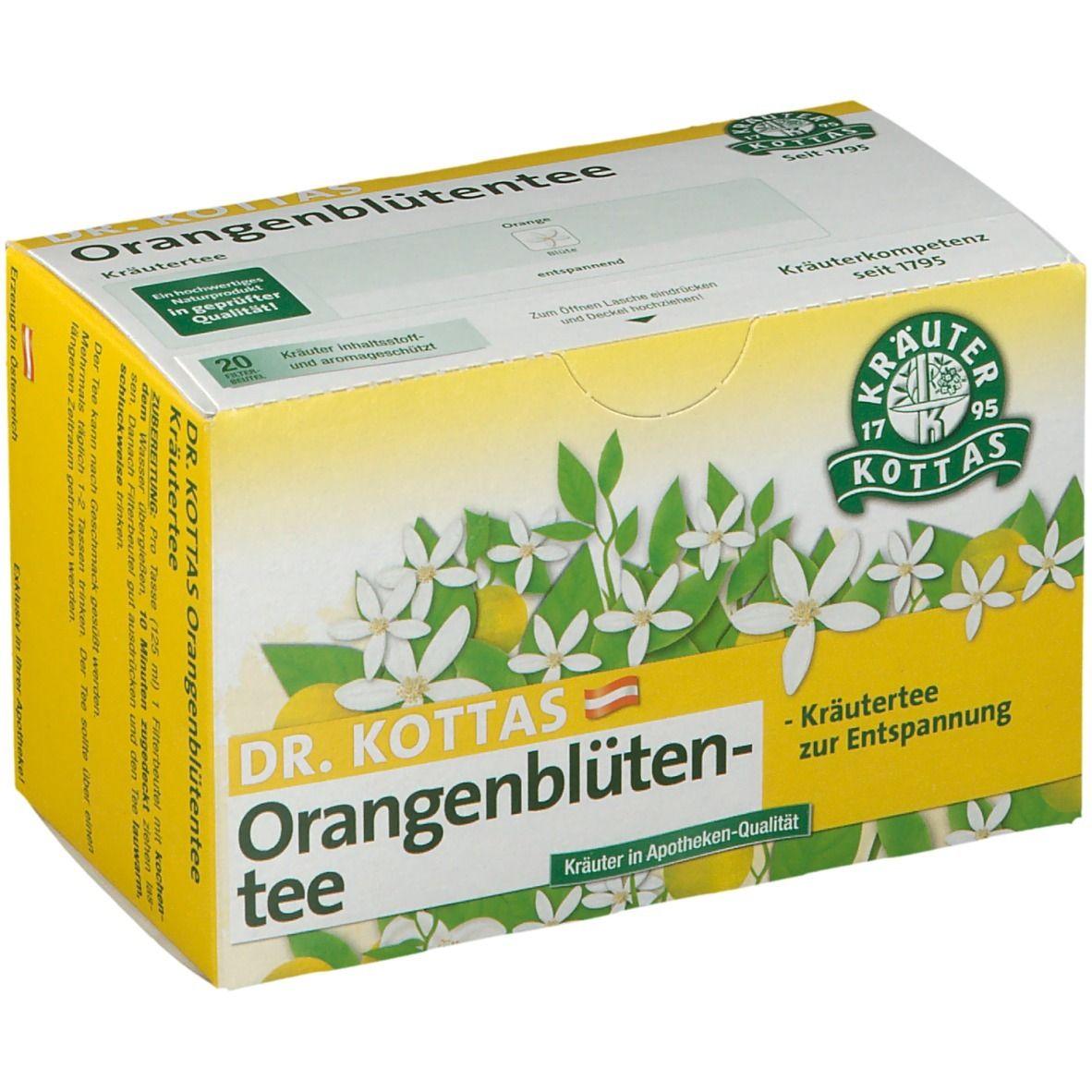 Dr. Kottas Orangenblütentee Filterbeutel