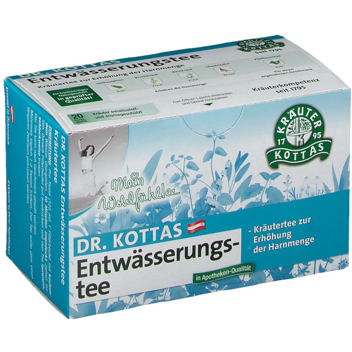Dr. Kottas Entwässerungstee Filterbeutel