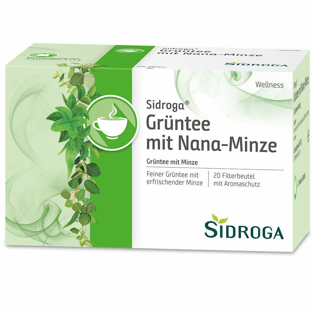 Sidroga® Wellness Grüntee mit Nana-Minze