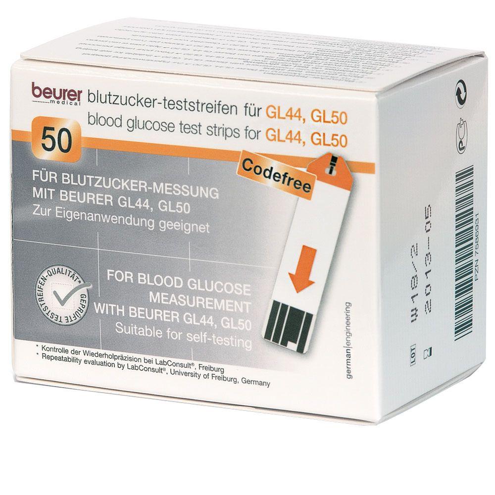 beurer Blutzucker Teststreifen GL 44/50