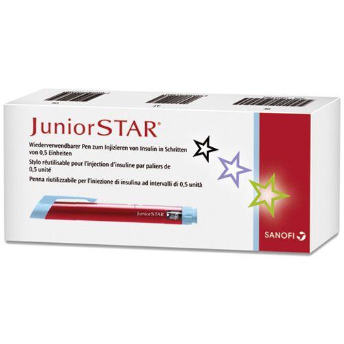 JuniorSTAR® Injektionsgerät rot