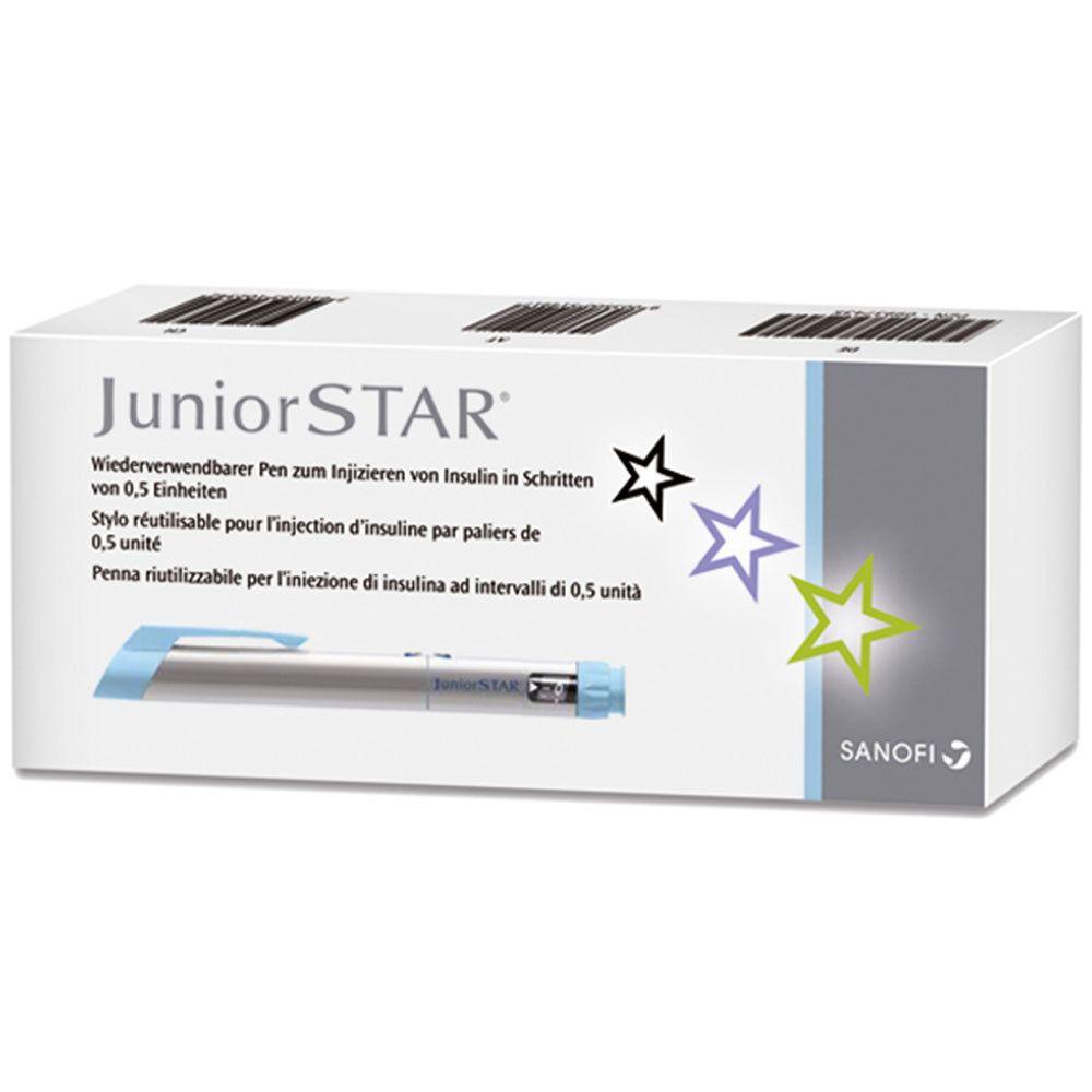 JuniorSTAR® Injektionsgerät silber