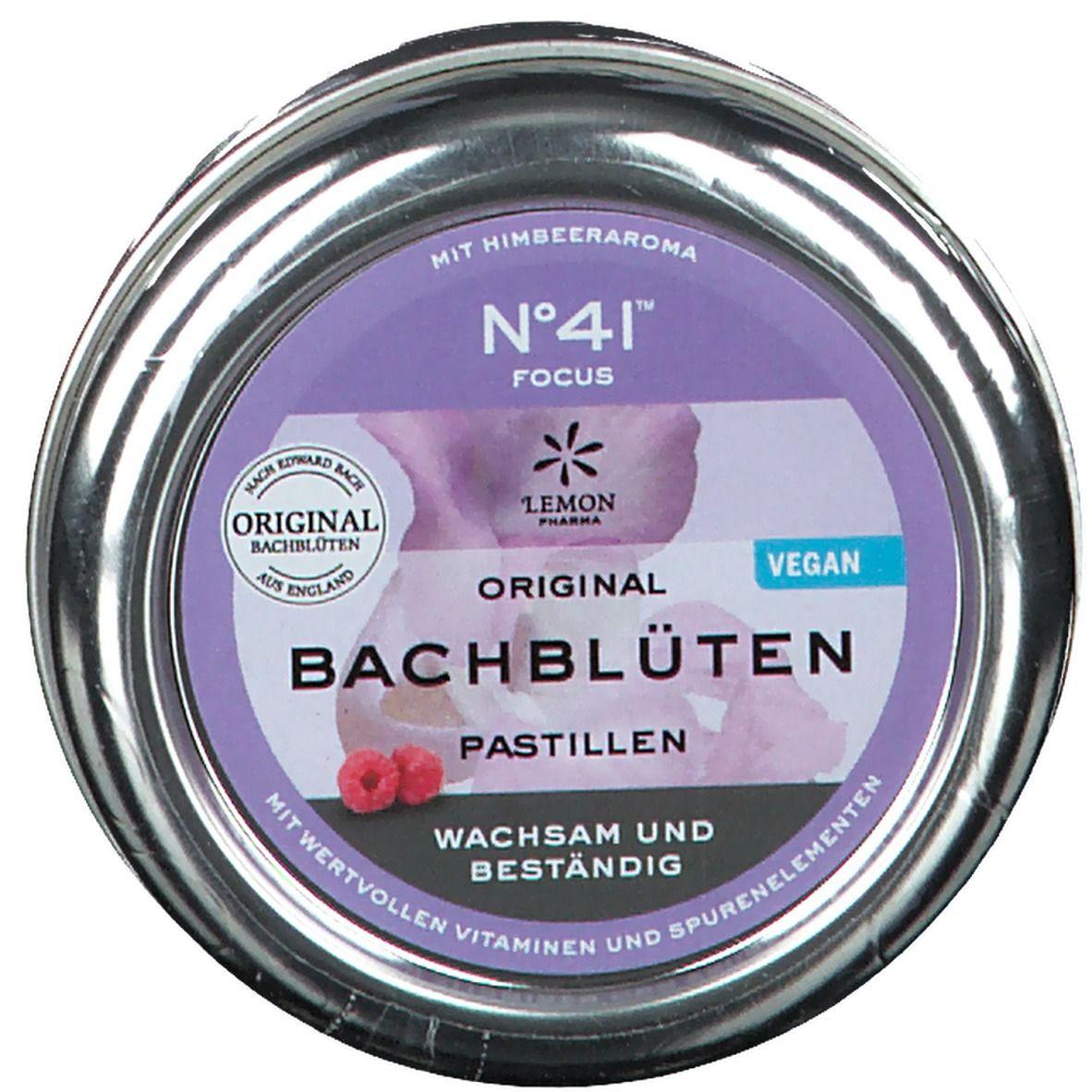 No. 41® Konzentration Original Bachblüten Pastillen