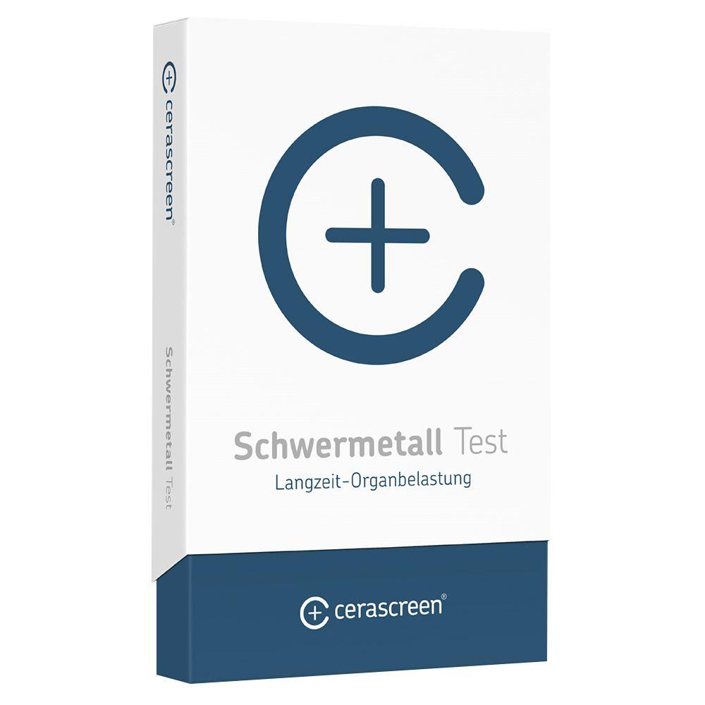 cerascreen® Schwermetall Test