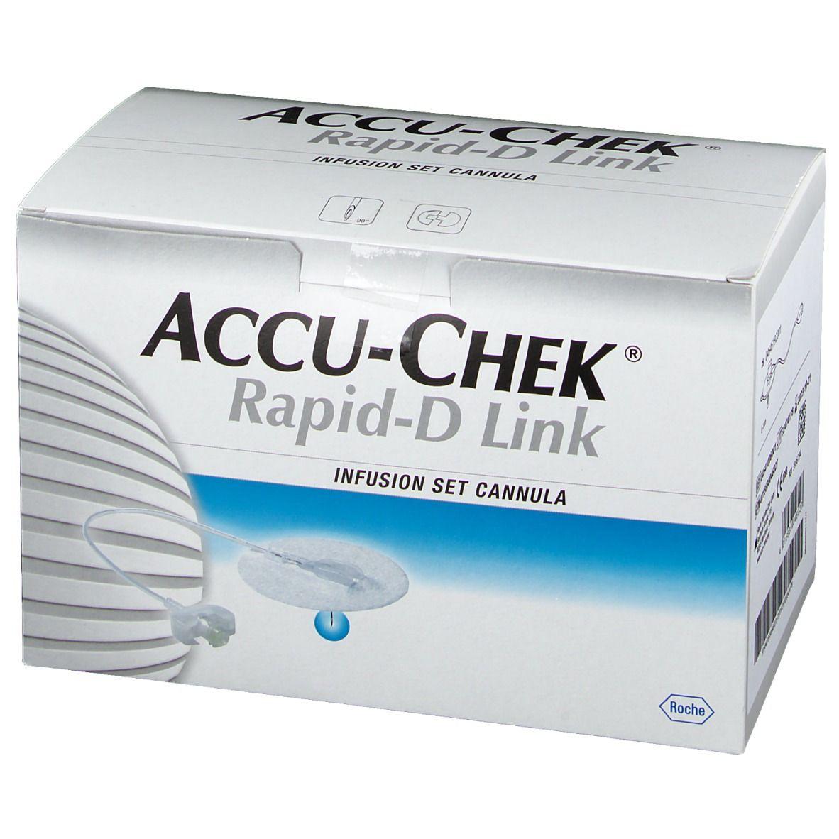 ACCU-CHEK® Rapid-D Link Kanüle 6 mm